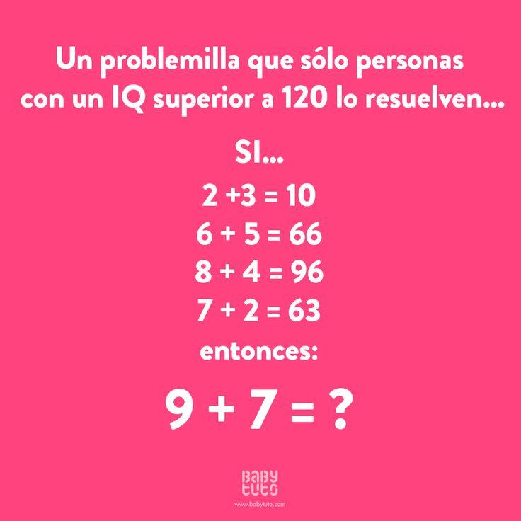 Tenemos un nuevo desafío matemático para nuestros Babylovers ¿Sabes ya la respuesta? ¡Comparte cuando lo resuelvas usando #DesafíoBabytuto!
