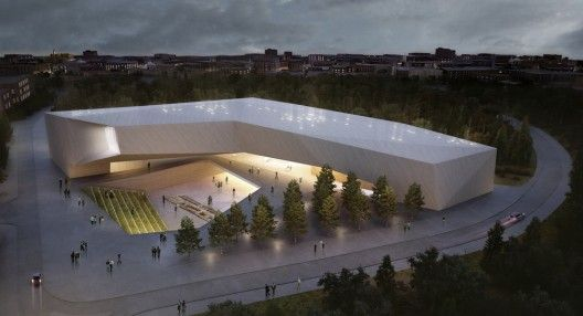The Museum of Tolerance, designed by Bracha Chyutin, Michael Chyutin, Jacques Dahan, and Ariel Noyman is located at the heart of modern Jerusalem, in its