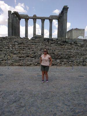 Greek Shrine Ruins in Évora