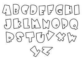 letra decorativa para carteleras - Buscar con Google