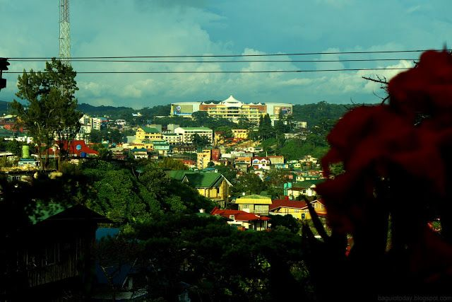 Baguio Today: SM Baguio viewed from Lourdes Grotto, June 2013