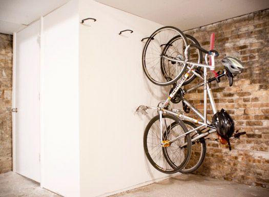 best 25 bike storage solutions ideas on pinterest. Black Bedroom Furniture Sets. Home Design Ideas
