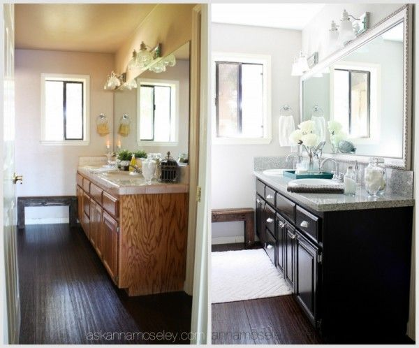 121 best interior before after images on pinterest - Bathroom makeovers before and after ...
