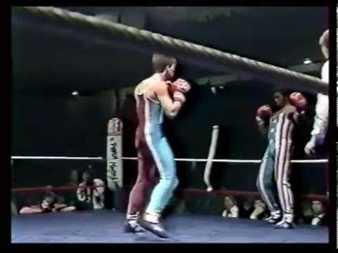 les meilleurs enchainements de la boxe française des années 80 - YouTube