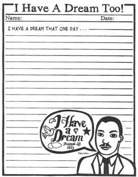 I have a dream essays
