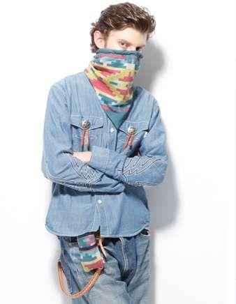 The Whiz Limited FW11 Collection for Men Boasts Plenty of Tribal Prints #coachella #mensfashion trendhunter.com
