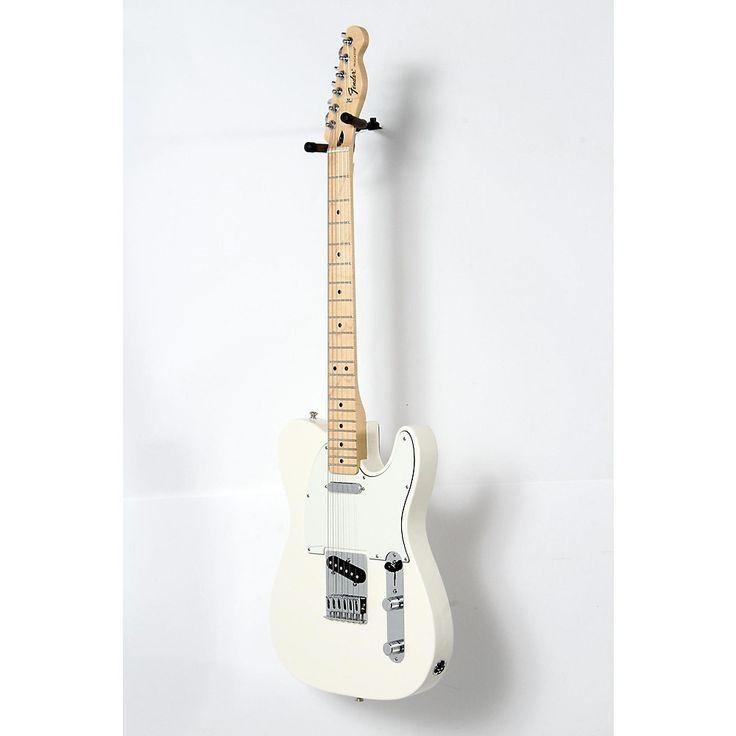 Fender Standard Telecaster Electric Guitar Arctic White, Gloss Maple Fretboard 190839095596