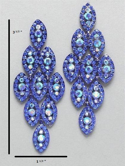 Prom dress 2 piece earrings