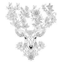 Kaisercolour Card - Flora Deer