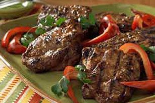 """On occasion, when the chef is feeling a little loopy, he will grill these out on the veranda and call it a """"steak-out."""" Silly Chef. #greypoupon"""