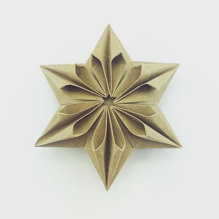 Star designed by @xephirart #origami #origamistar #paperfolding #paper #star #paperkawaii