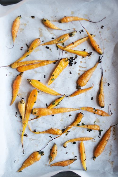 miso-yam soup w/ sesame roasted carrots | Roasted Carrots, Soups and ...