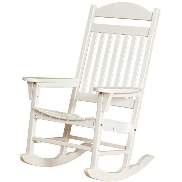 Wildridge Recycled Plastic Heritage Traditional Rocking Chair