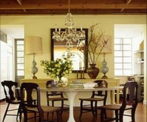 15 Adorable Country Dining Rooms Inspiration
