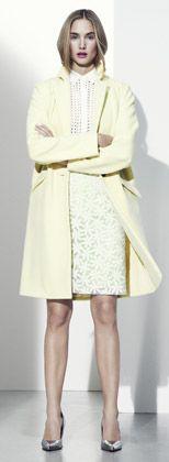 egg shell yellow dress