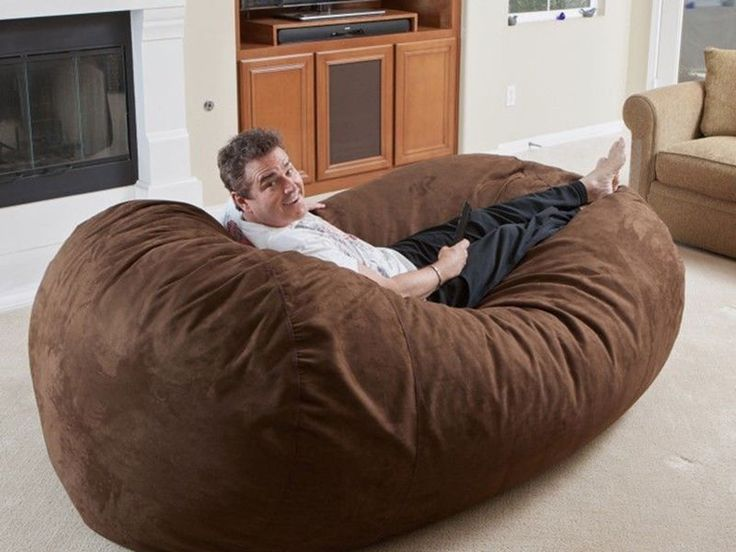 How To Make A Bean Bag Bed Bean Bag Chair Bean Bag Bed