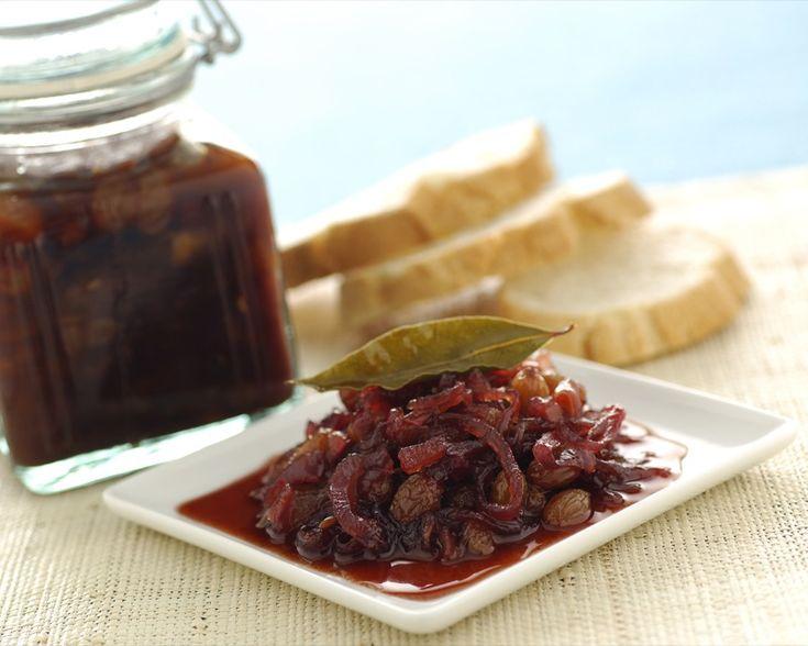Ricetta chutney di cipolle rosse e uvetta