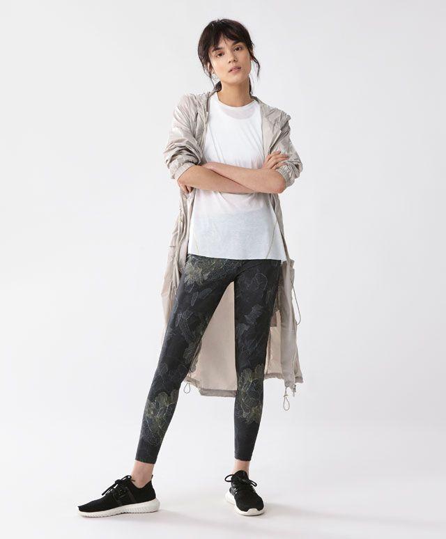 Leggings estampadas - Leggings -Tendências AW 2016 em moda de mulher na Oysho online: roupa interior, lingerie, roupa desportiva, étnica, boho, sapatos, complementos, acessórios e moda de banho.