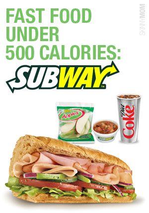 fast food under 500 subway. Black Bedroom Furniture Sets. Home Design Ideas