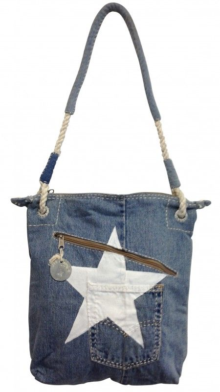 DAILY jEANS WHITE STAR | DAILY POSTMAN BAG | ALI LAMU