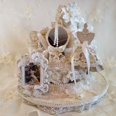 243 best my pion design creations images on pinterest for Commode style shabby chic