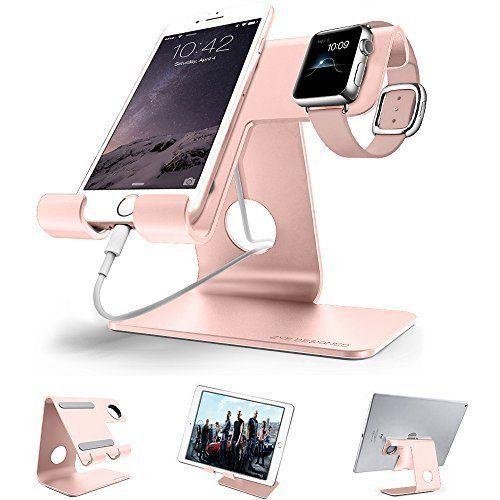 Aluminum Charging Dock Charger Stand Holder For Apple Watch iPhone 38 42mm New #AluminumChargingDockChargerStandHolder
