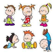 Kreslené obrázky dětí 01, free vectors - Clipart.me
