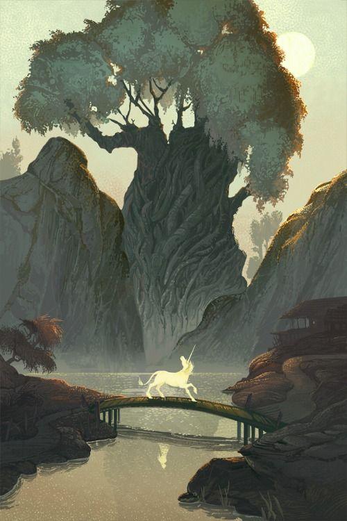 The Last Unicorn Man's Road