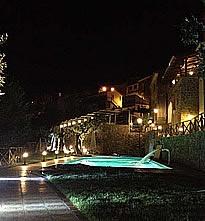 Palazzo at night