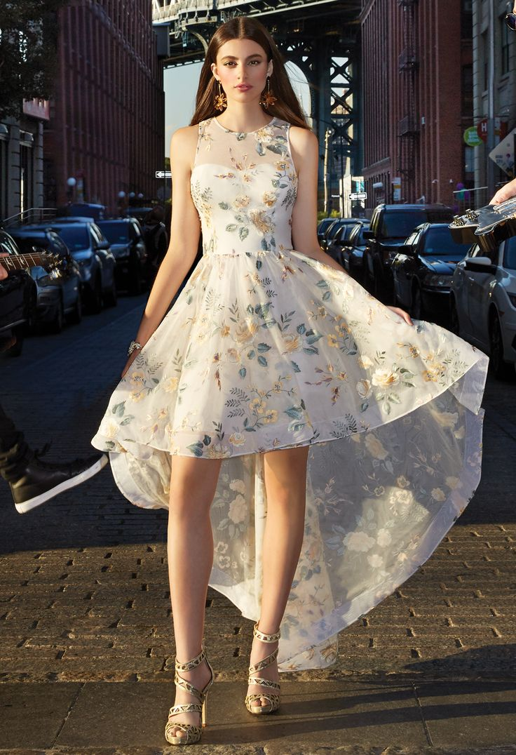 159 best prom dresses high low images on pinterest prom dresses with its embroidered dress style high low skirt and chic side pockets this frock can double as a gorgeous bridesmaid dress ombrellifo Choice Image
