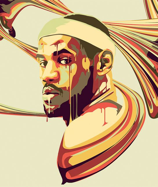 82 best NBA ART images on Pinterest Basketball, Basketball stuff - artistic skills
