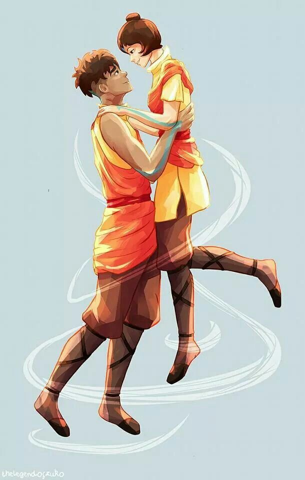 Cutest airbender couple ever