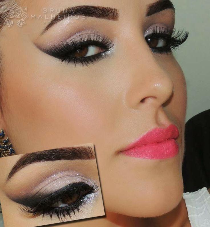 Maquiagem Noiva Ousada ♥ ~ Bruna Malheiros Makeup