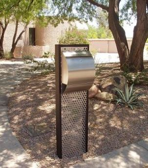 Created By Mailbox Doctor MD Are These Modern Mailboxes. Mailbox  DesignsMailbox IdeasContemporary ...