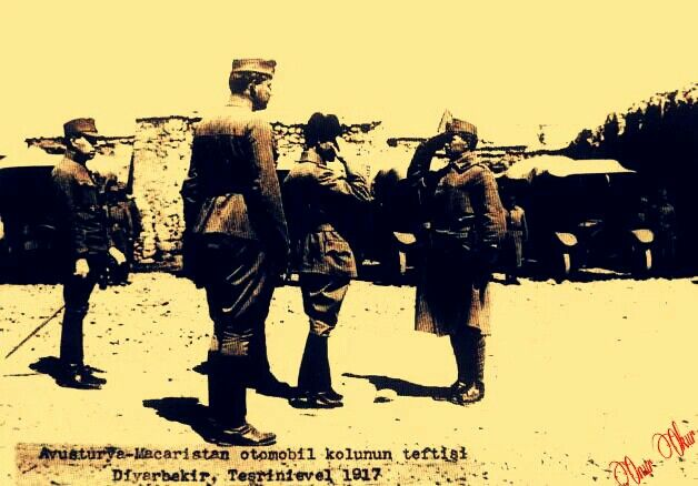 Mustafa Kemal Diyarbakır'da...(1917)
