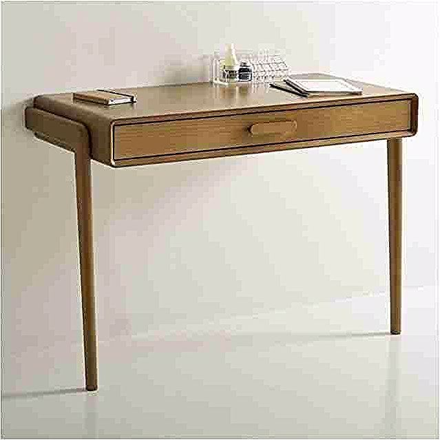 Console De Bureau Nice Console Bureau Sisko 2 Tiroirs Bouleau 2 Coloris Table Basse Rangement In 2020 Home Decor Office Desk Desk