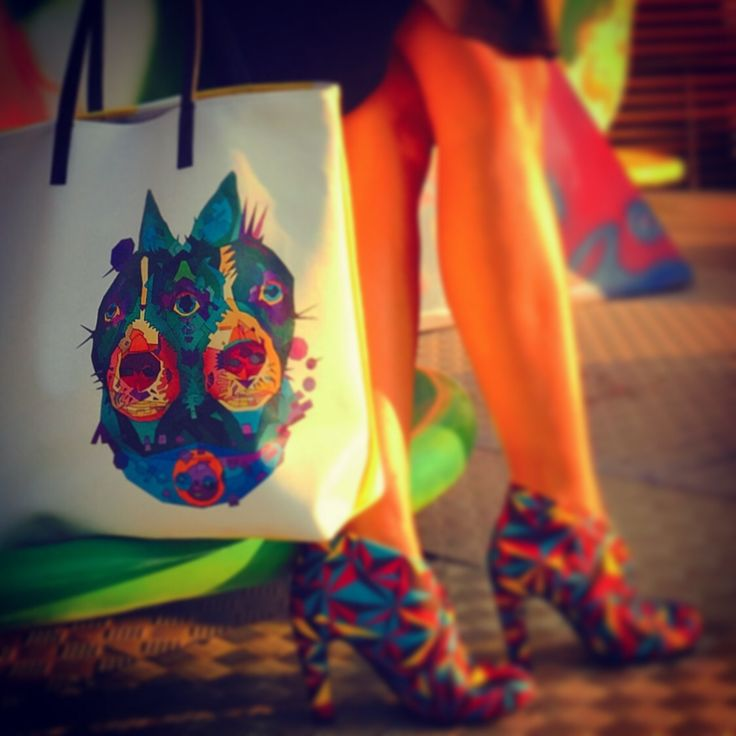 Summer tote bag by kulik
