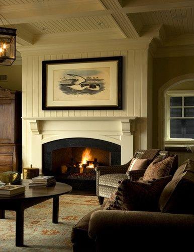 Curved Fireplace Opening - Jennifer Taylor Design Blog: Chez Sois {take two}
