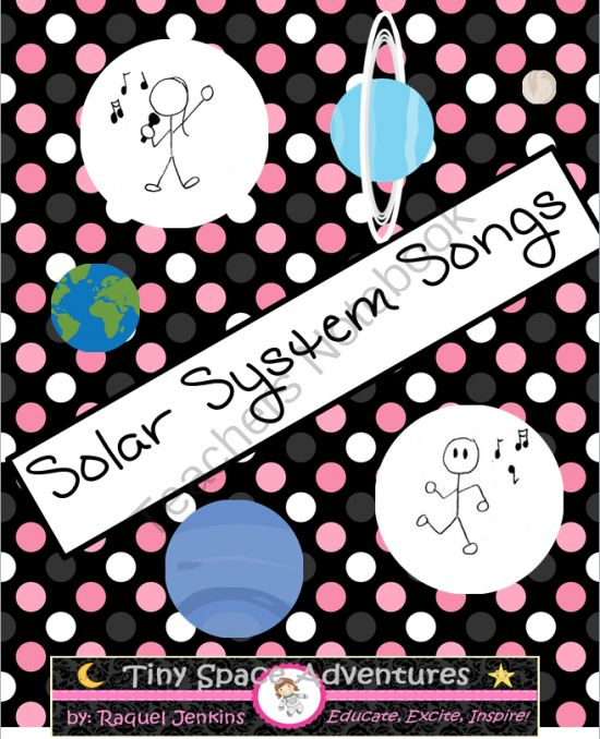 Solar System Songs, K-5; Sing your heart out solar system! A fun way to learn…
