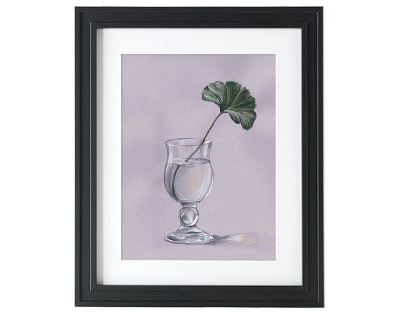 Glass  Print  Watercolor Wall Art  Wall Decor  by songhillpics
