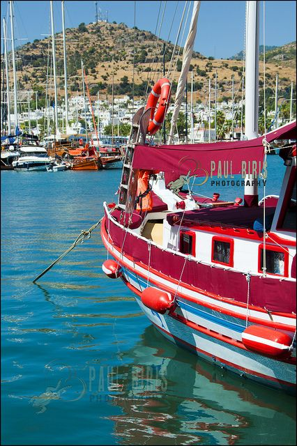 Gullets in Bodrum, Turkey