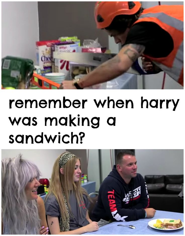 Yup I honestly thought he was gonna make a steak or somethin but turns out it was a sandwich