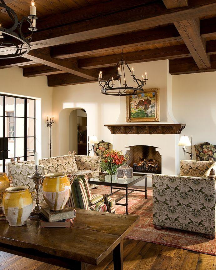 Stunning Spanish Style Room | Wiseman and Gale Interior Design