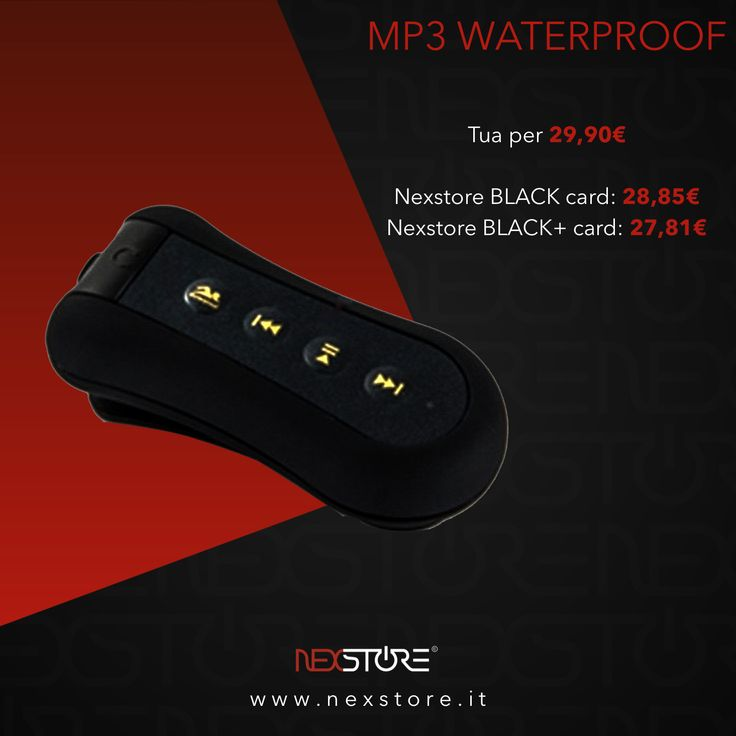 NEXSTORE©•MP3 WATERPROOF-BRACCIATE A RITMO DI MUSICA• •Link video completo YouTube: https://youtu.be/XwNGQ3w523k •Link prodotto: https://www.nexstore.it/product-page/mp3-waterproof #nexstore #website #ecommerce #shoppingonline #electronics #technology #music #water #swimming #earphones #mp3