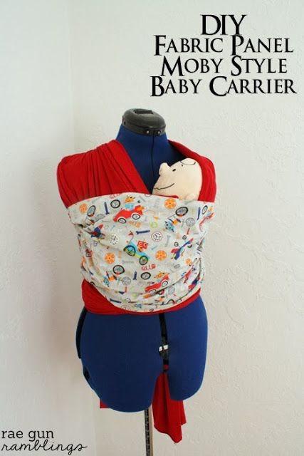 Moby Wrap Baby Carrier tutorial