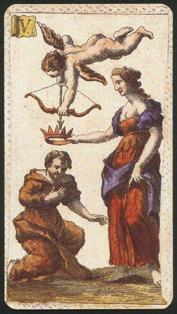 Minchiate Etruria Tarot - Lovers
