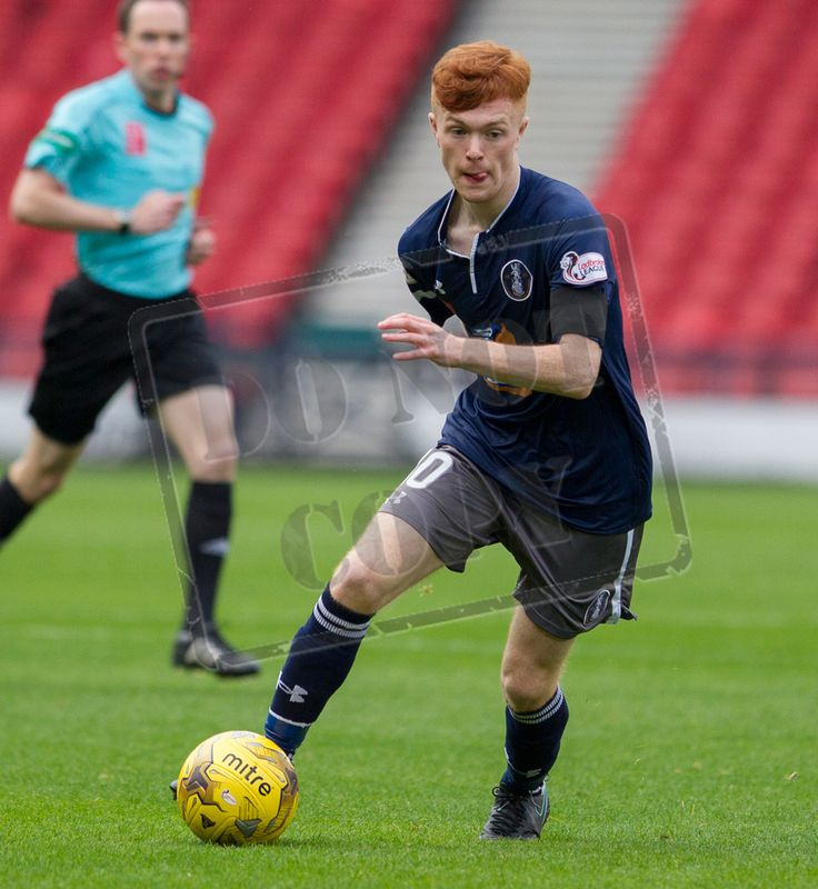 Queen's Park's Liam Brown in action during the Ladbrokes League One game between Queen's Park and East Fife.