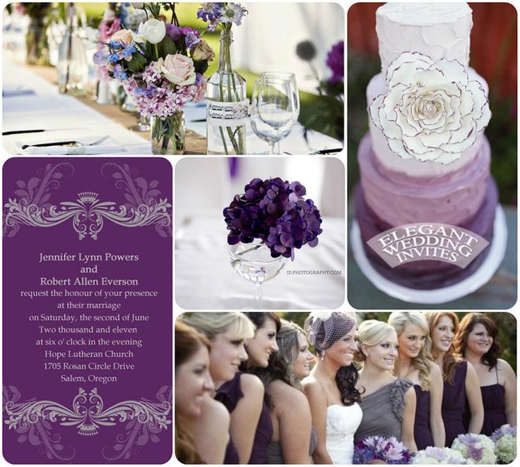 Get the purple wedding invitations at: http://www.elegantweddinginvites.com/product/vintage-purple-damask-custom-wedding-invitation-cards-ewi047/