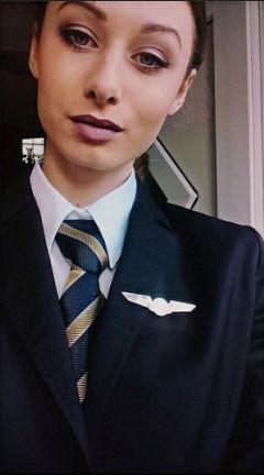 Trade Air Stewardess In Work Uniform   Karla   Flickr