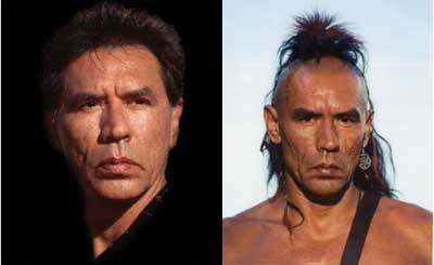 """Wesley """"Wes"""" Studi (born December 17, 1947) is a Cherokee actor, who has earned notability for his portrayal of Native Americans in film.[1][2] He has appeared in well-received Academy Award-winning films, such as Kevin Costner's Dances with Wolves, Michael Mann's The Last of the Mohicans (1992), the award-winning Geronimo: An American Legend (1993)[3] and the Academy Award-nominated film The New World (2005)."""